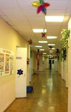 Дизайн украшения вестибюля на новый год