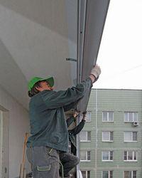 Правильный крепеж пластиковых окон на балконе.