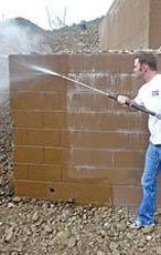 Как убрать высолы на бетоне