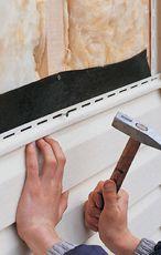 Отделка фасадов домов металлическим сайдингом